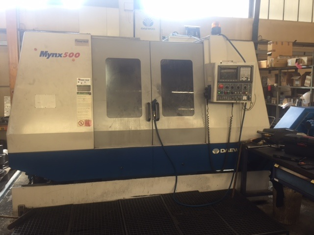 Centre d'usinage DAEWOO Mynx 500
