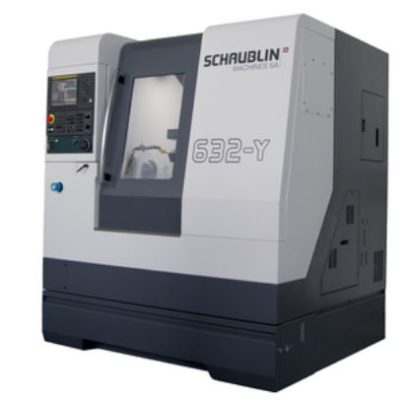 Новый токарный станок Schaublin 632-Y 3