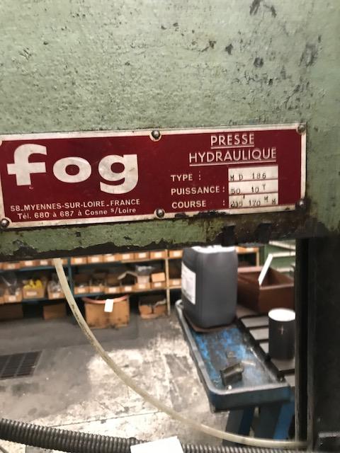 Presse hydraulique FOG