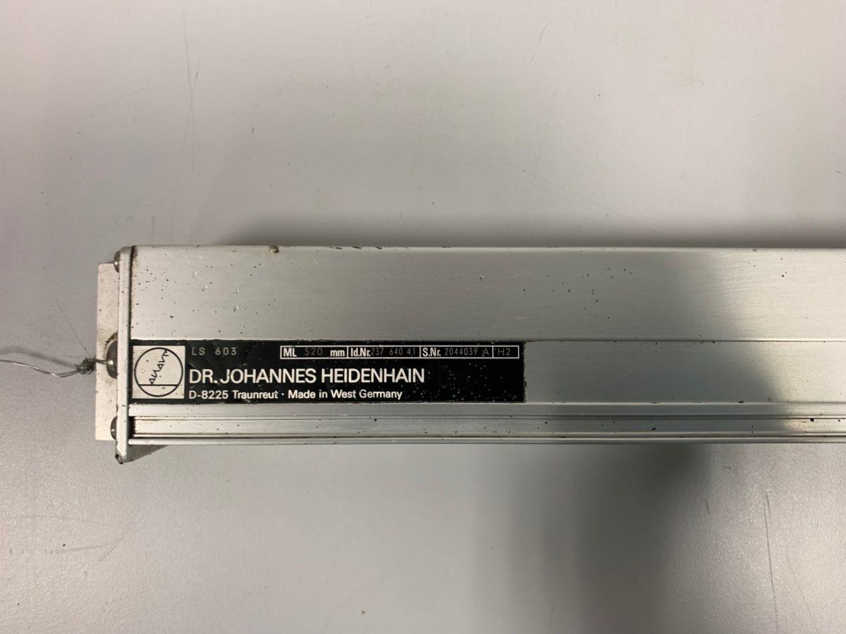 Règle Heidenhain LS 603 ML520mm