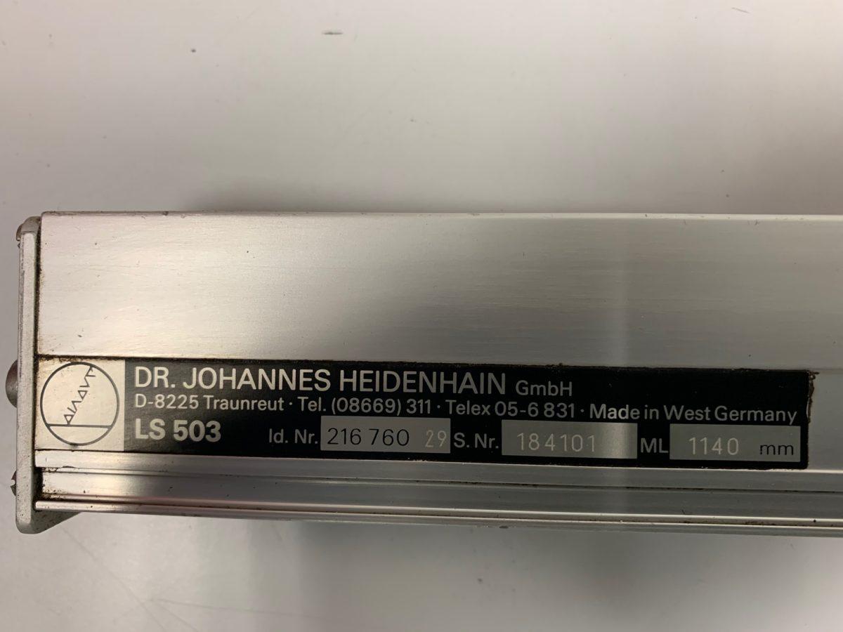 Règle Heidenhain LS 503 ML1140mm