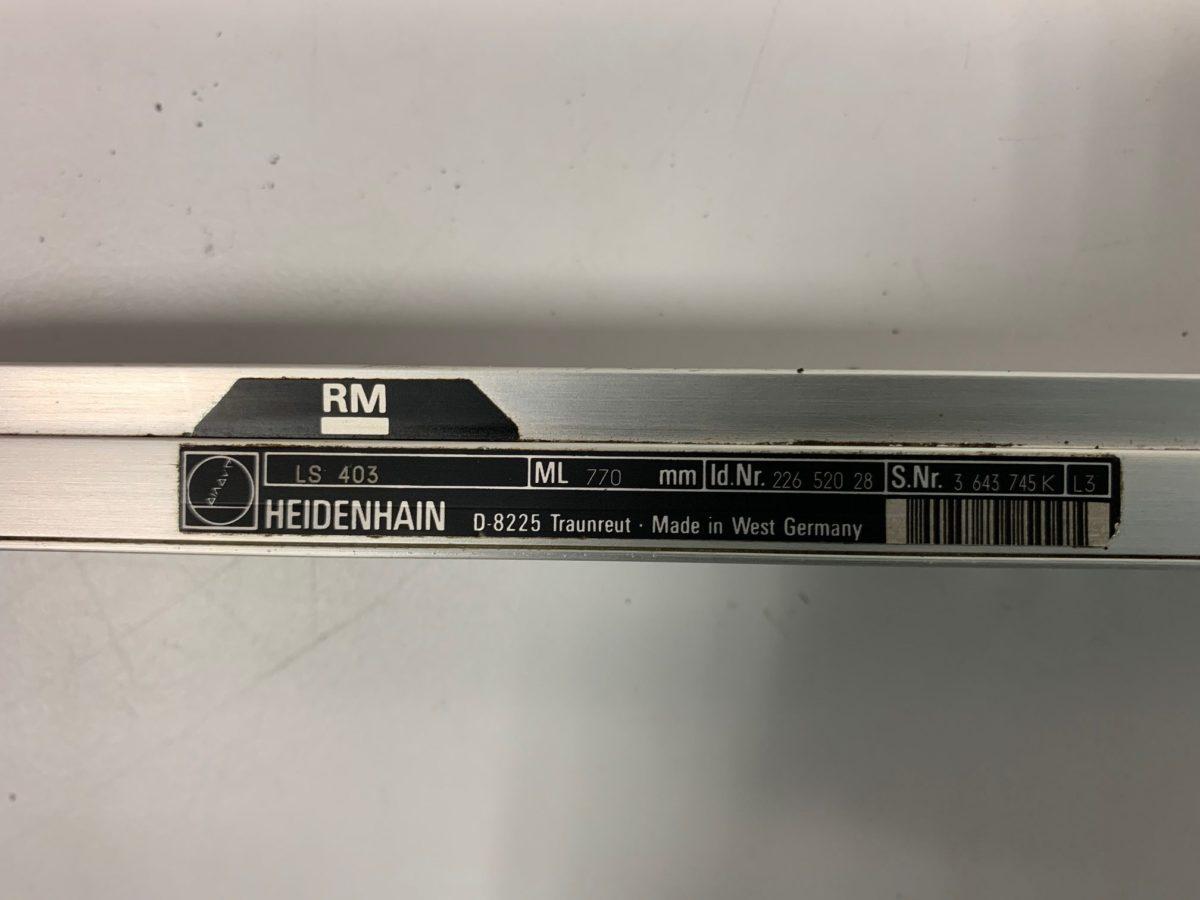 Règle Heidenhain LS 403 ML770mm