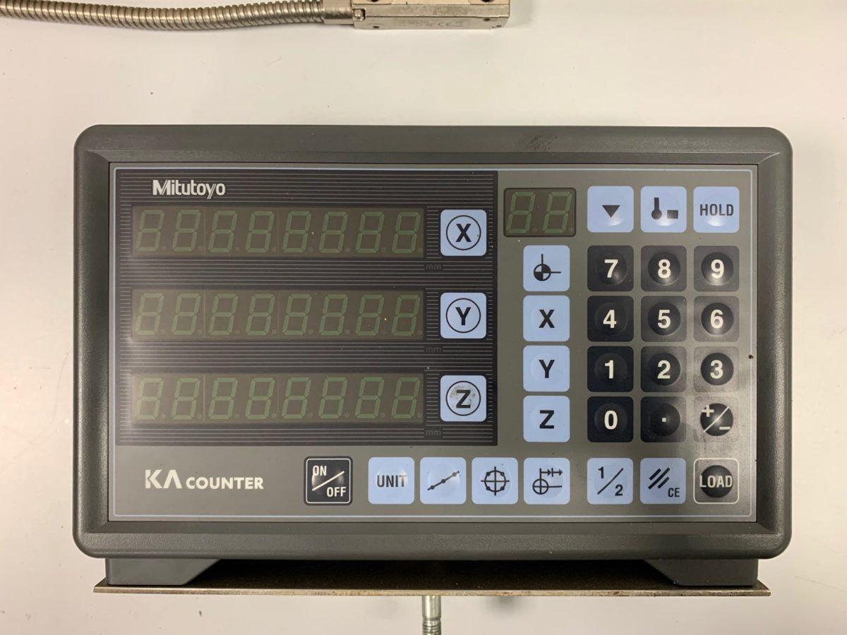 Mitutoyo KA Counter et Règles AT715