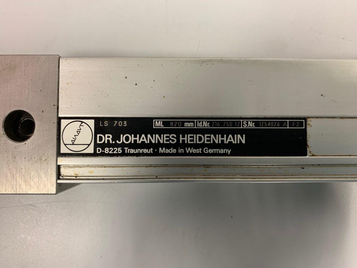 Règle Heidenhain LS 703 ML820mm