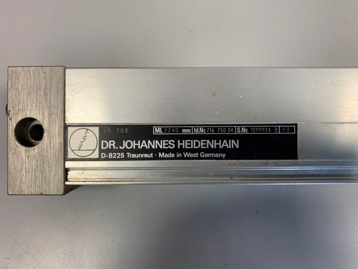 Règle Heidenhain LS 703 ML2240mm