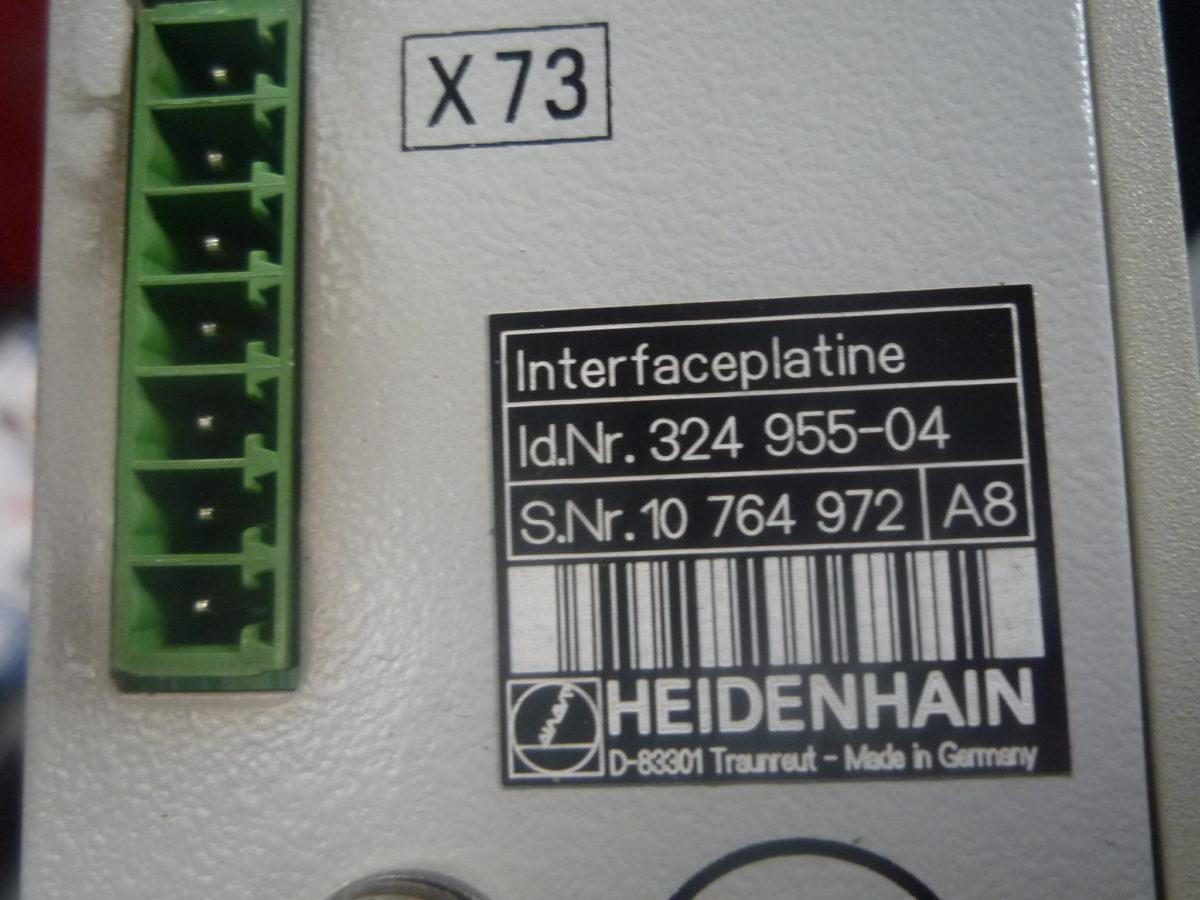 PLATINE INTERFACE HEIDENHAIN