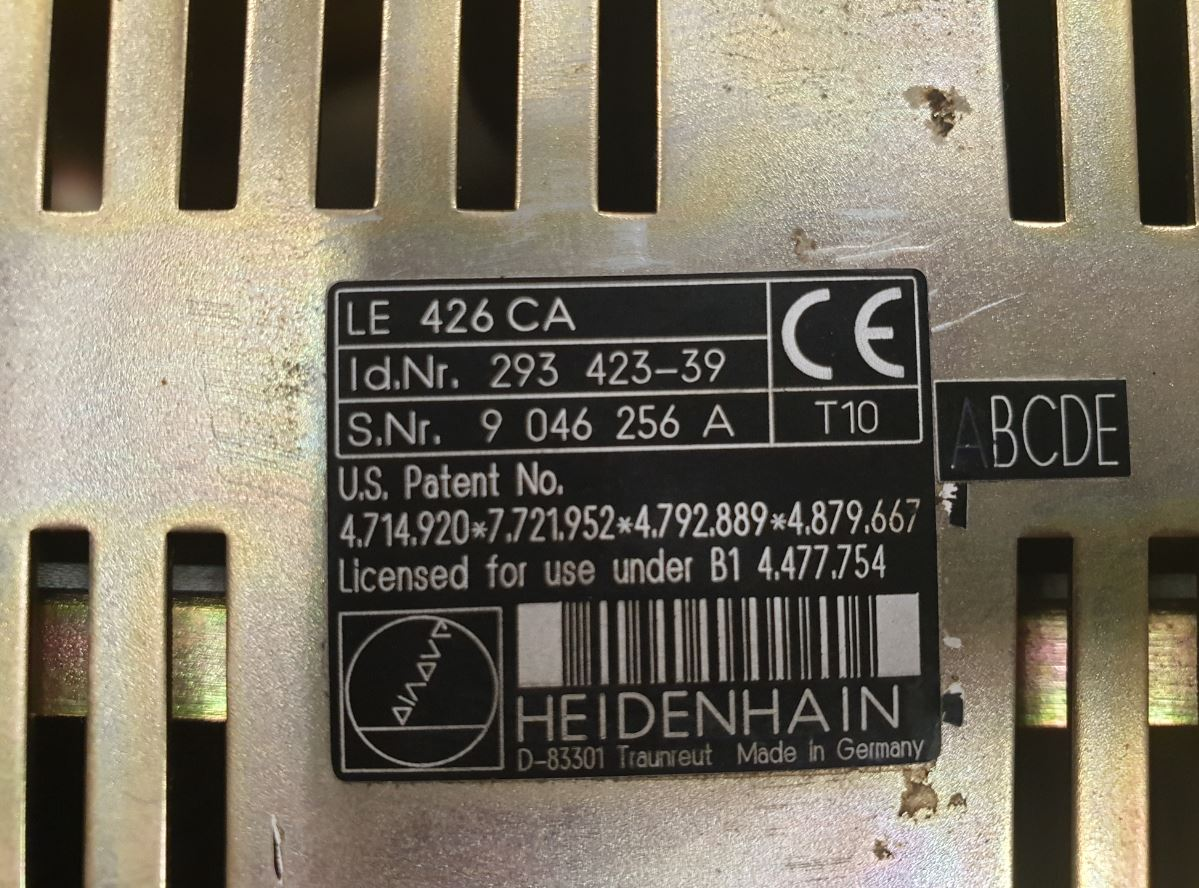Commande numérique HEIDENHAIN LE 426 CA