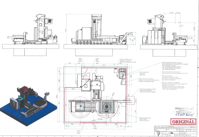 Aléseuse FERMAT WFT 11 CNC disponible