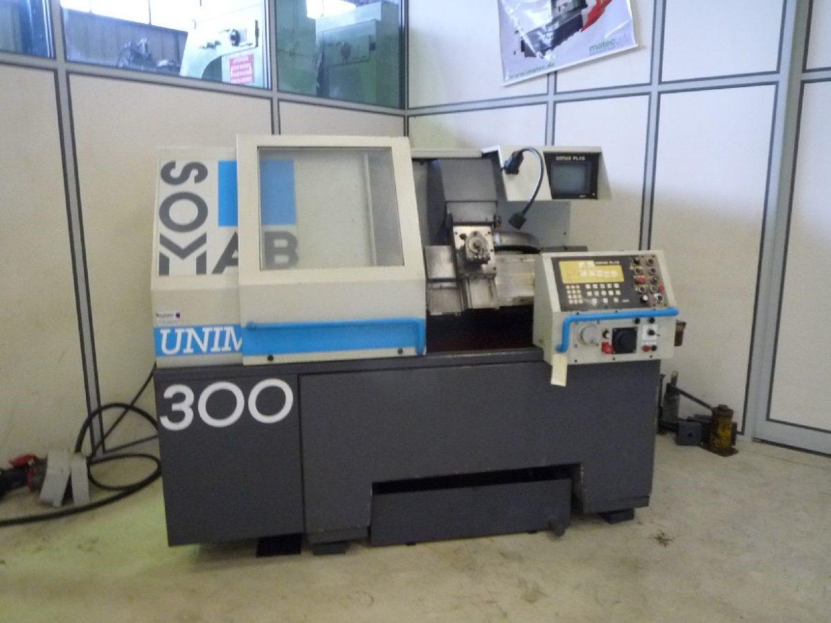 Tour CNC auto-apprentissage SOMAB UNIMAB 300